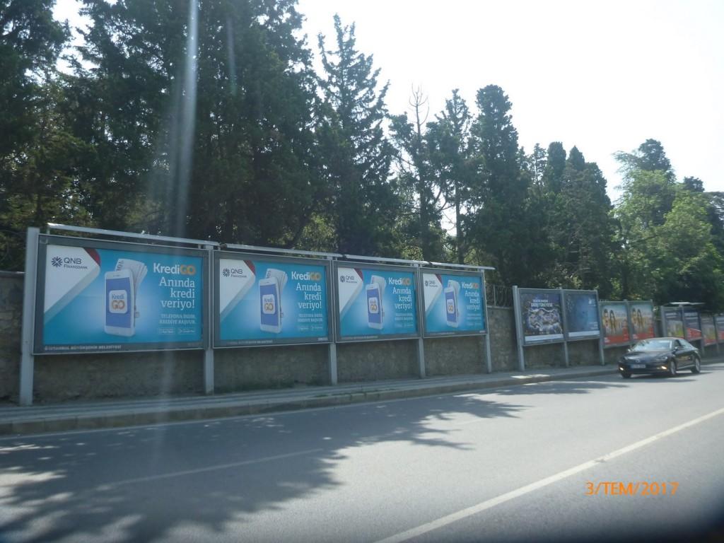 QNB Finansbank - Kredi Go - İstanbul Ströer Billboard 02-08 Temmuz (3)